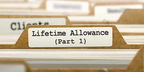 Lifetime Allowance Tax Liability At 75 Years Old