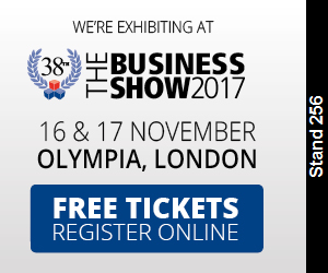 Come and see us at the Business Show