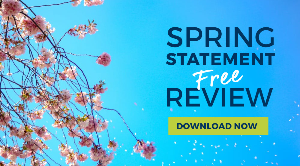 Download your FREE Spring Statement 2018 Summary