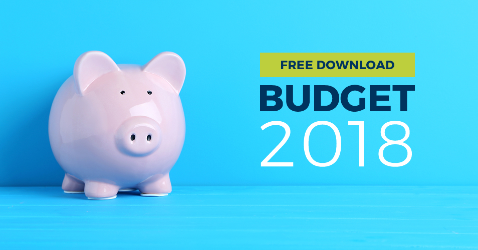 Download your FREE 2018 Budget Summary