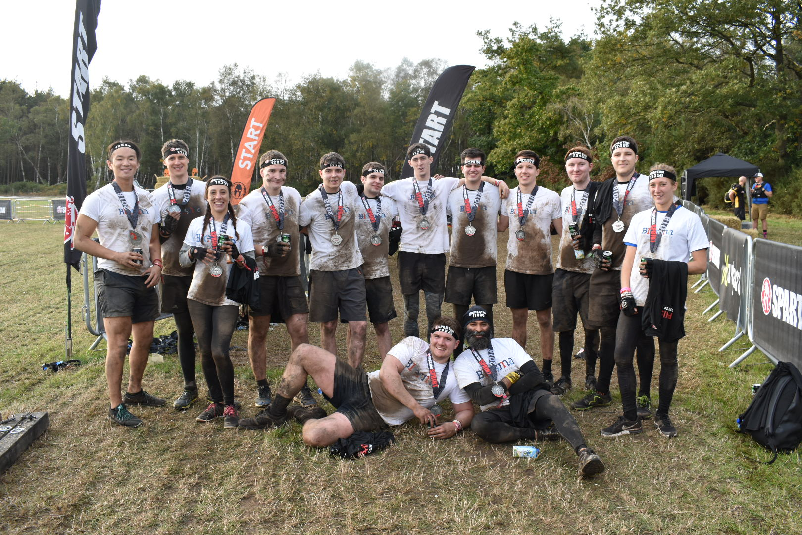 Kirk Rice Team Complete The Spartan Race