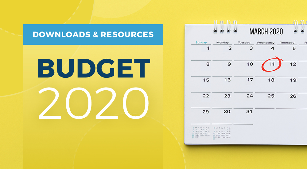 2020 Budget – Download Your Free Budget Summary Now